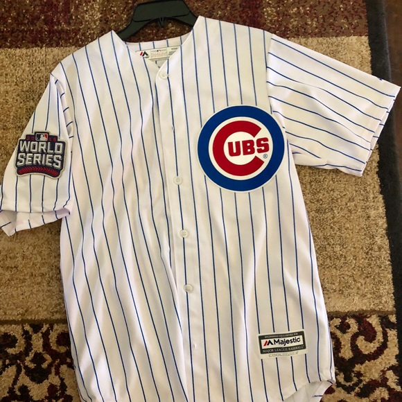 best website 43bfb 6f846 2016 Cubs World Series Rizzo Jersey